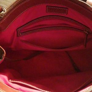 Dooney & Bourke Bags - Dooney Bourke grey ostrich bag. New condition.